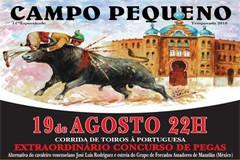 Forcados de Mazatlán vencem concurso de pegas em dia de Alternativa de José Luís Rodriguez