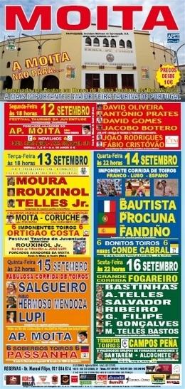 Taurodromo.com em direto da Praça de toiros da Moita