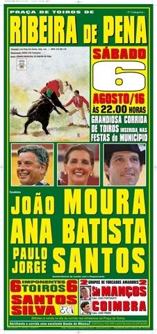 Ribeira de Pena recebe corrida de toiros integrada nas festas do município