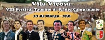 Rádio Campanário apresenta cartel do Festival Taurino