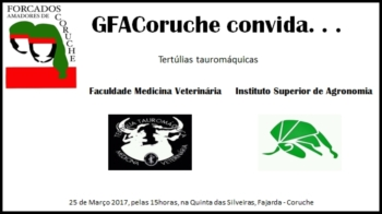 GFACoruche convida tertúlias tauromáquicas da FMV e do ISA