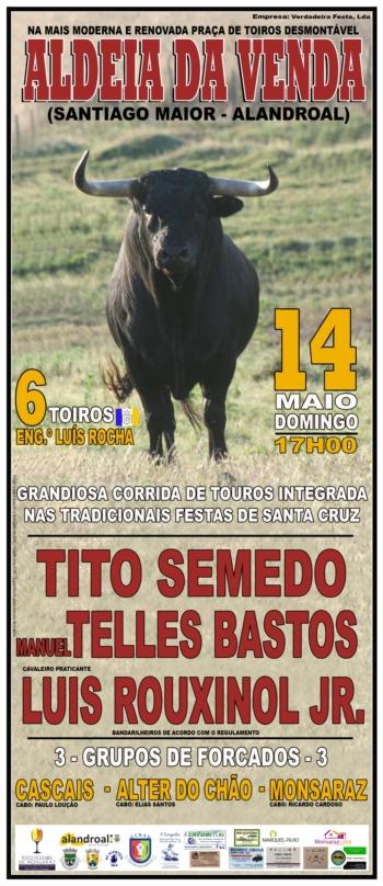 Corrida de Touros em Aldeia da Venda a 14 de maio