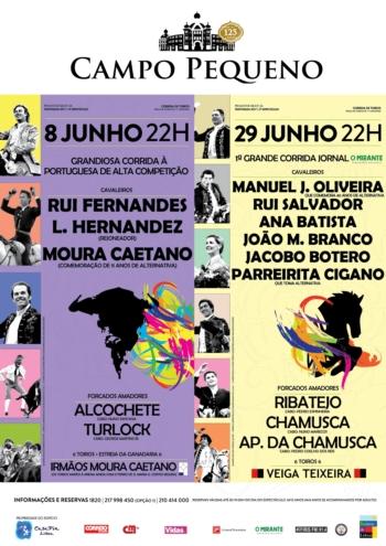 Veiga Teixeira por Luís Rocha, dia 29 de Junho no Campo Pequeno