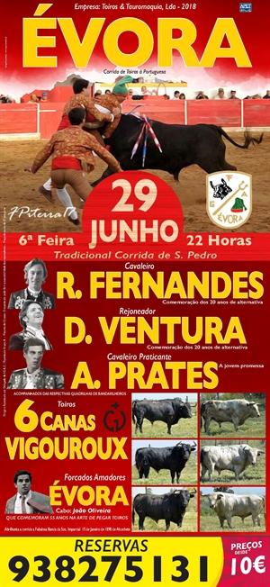 Tradicional corrida de São Pedro - Evora