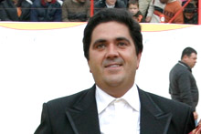 San Vicent de Tiroux recebe José Manuel Duarte