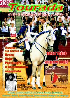 Nas bancas o anuário da Tauromaquia Alentejana -