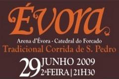 Tradicional Corrida de S. Pedro em Évora dia 29 de Junho