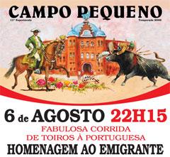 Campo Pequeno homenageia o Emigrante
