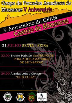 V aniversário do GFA de Monsaraz