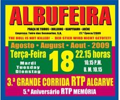 Agradável noite em Albufeira, com troféu de Melhor Lide para Tiago Carreiras!