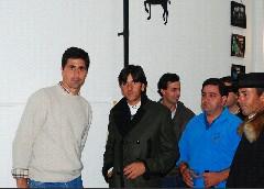 Ventura e Rui Santos visitam Coudelaria Sol