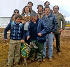 João Moura Campeão de Espanha de Galgos