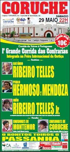 Pablo Hermoso de Mendoza em Coruche a 29 de Maio