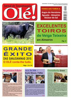 Jornal Olé! desta semana já nas bancas
