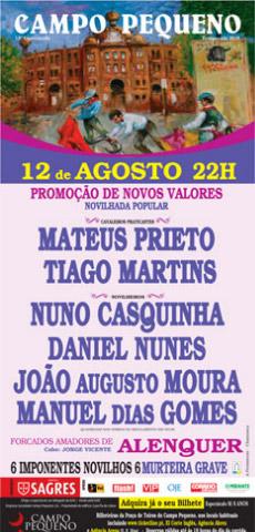 Novos valores mostraram-se em Lisboa