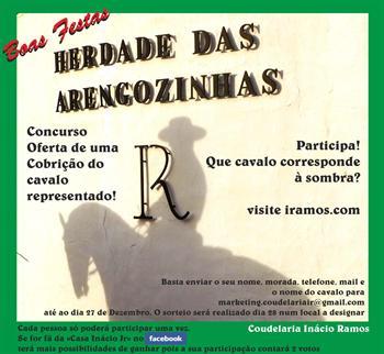 Casa Inácio Jr anuncia concurso da Coudelaria Inácio Ramos