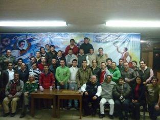 Aposento do Barrete Verde recebidos pelo Centro Taurino Queretano