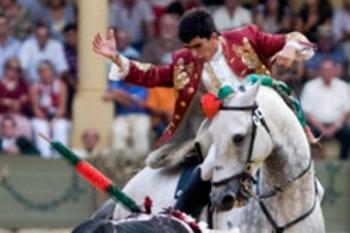 João Moura filho e Diego Ventura nas Fallas de Valencia