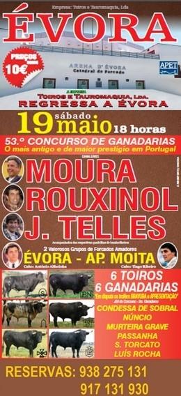 Peso dos Toiros para o 53º Concurso de Ganadarias em Évora