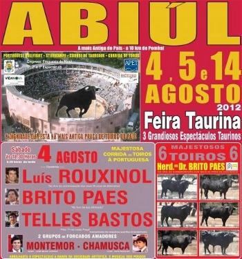 Grande Tarde de Manuel Telles Bastos na Primeira da Feira de Abiúl
