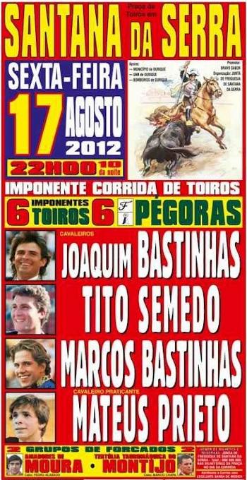 Santana da Serra, dia 17 de Agosto