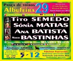 Corrida de Toiros à Portuguesa em Albufeira