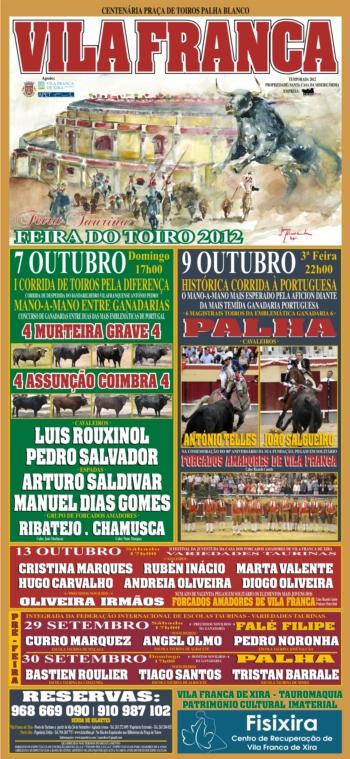Vila Franca Recebe a Feira do Toiro 2012