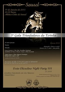 Gala T.T Nossa Senhora do Carmo Sousel