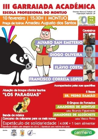 III Garraiada Académica de Carnaval no Montijo