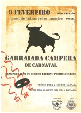 Garraiada Campera de Carnaval de Sousel