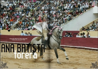 Ana Batista na revista The Horse Luxury Magazine