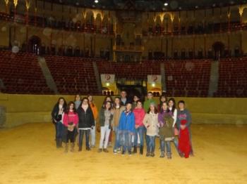 Jovens aficionados visitam história da tauromaquia