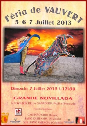 Ganadaria Palha na Feira de Vauvert (França)