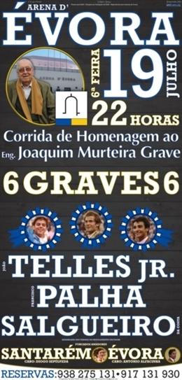 Évora presta tributo a Joaquim Murteira Grave