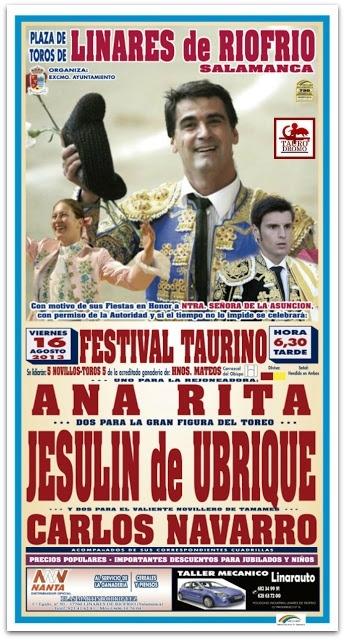Ana Rita em Linares de Riofrio (Espanha)