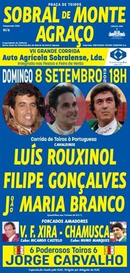 Sobral de Monte Agraço, mais 3 bilhetes no segundo sorteio para 8.SET