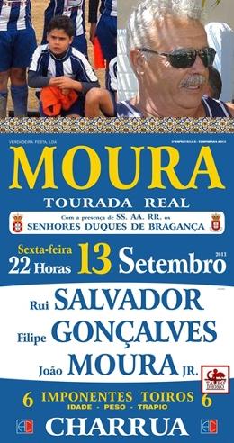 Vencedores dos Bilhetes para Tourada Real em Moura 13.SET (1º Sorteio)