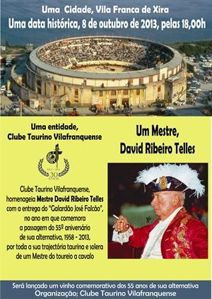 Entrega do galardão José Falcão ao Mestre David Ribeiro Telles