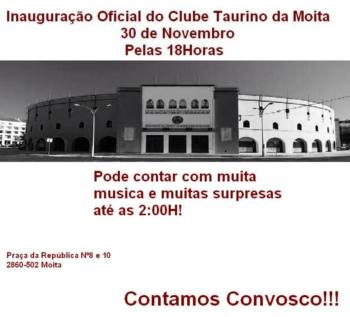 Inauguração Oficial do Clube Taurino da Moita