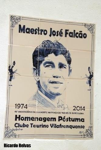 Inauguração do azulejo comemorativo do 40º aniversário da morte do maestro José Falcão
