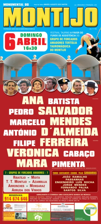 Cartaz do Montijo, dia 6 de Abril