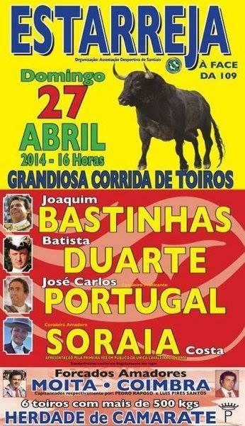 Corrida em Estarreja, dia 27 de Abril