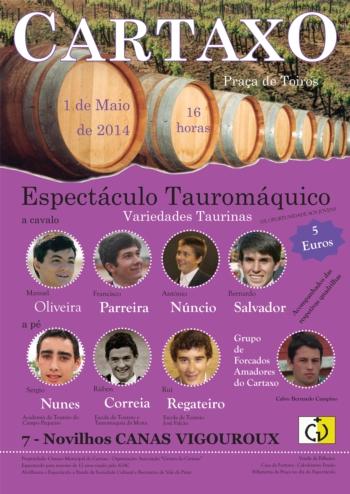 Variedade Taurinas no Cartaxo a 1 de Maio