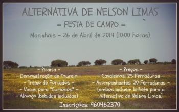 Festa de Campo de Promoção da Alternativa de Nelson Limas