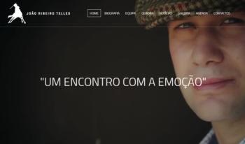 Já está disponível o novo website do cavaleiro João Ribeiro Telles