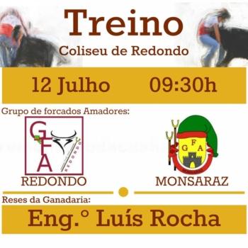 Amadores de Redondo e Monsaraz treinam no Coliseu de Redondo