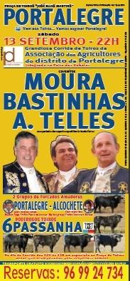 Cartaz da corrida de Portalegre-13 de Setembro