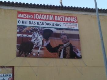 Grande promoção da corrida de toiros da Pêra Rocha