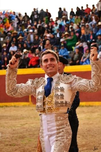 Nuno Casquinha saiu a ombros esta tarde em Fresnadilla