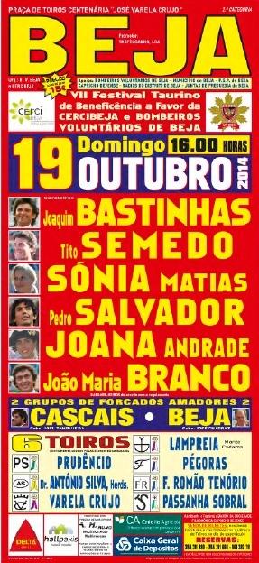 Joana Andrade e João Maria Branco em Beja
